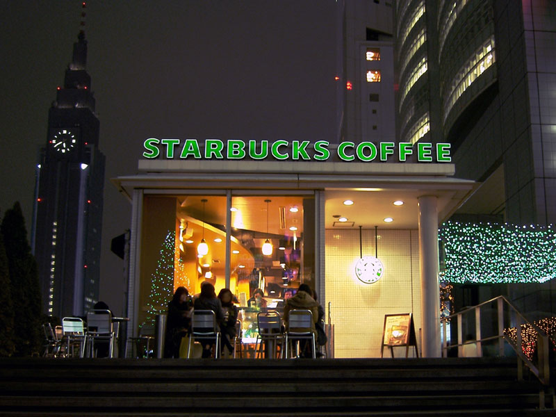 Starbucks Coffee chain