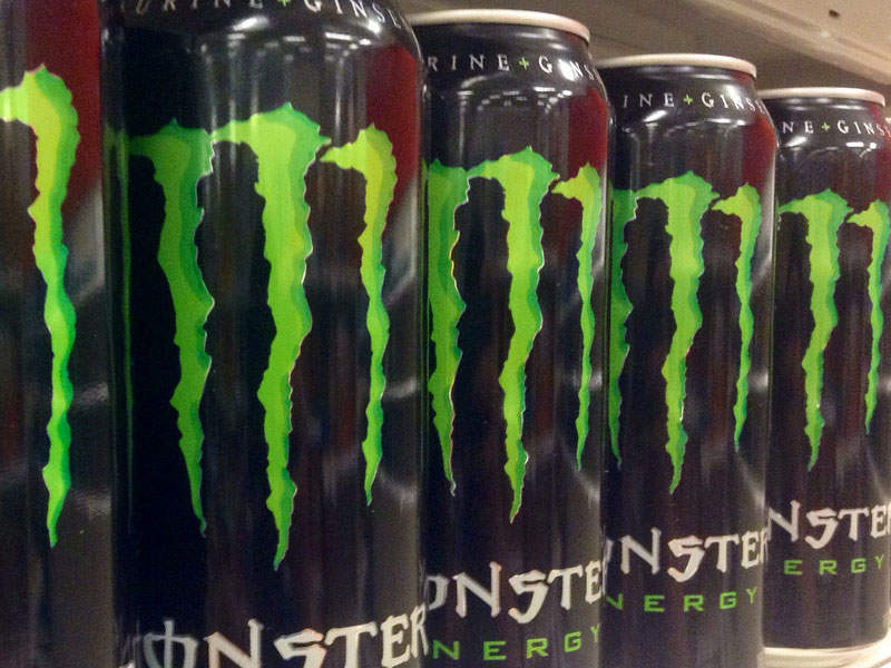 monster energy drink marketing strategy