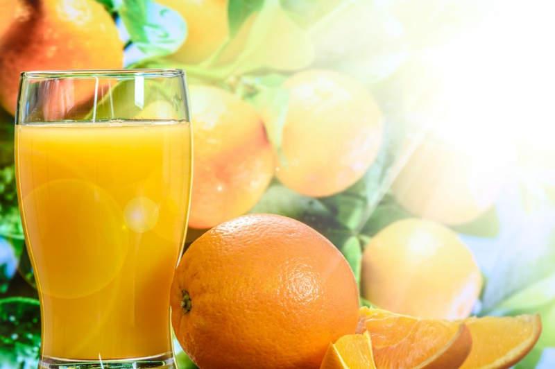 sunshine oranges orange juice glass orange slices