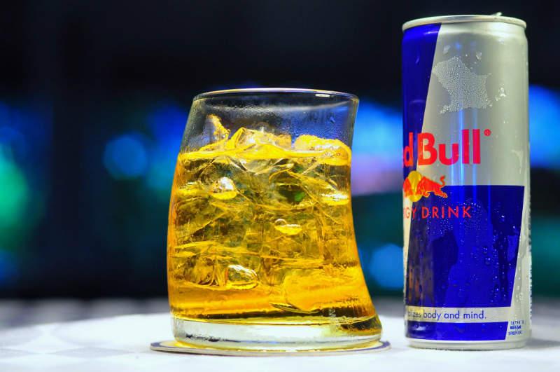 vodka red bull bar