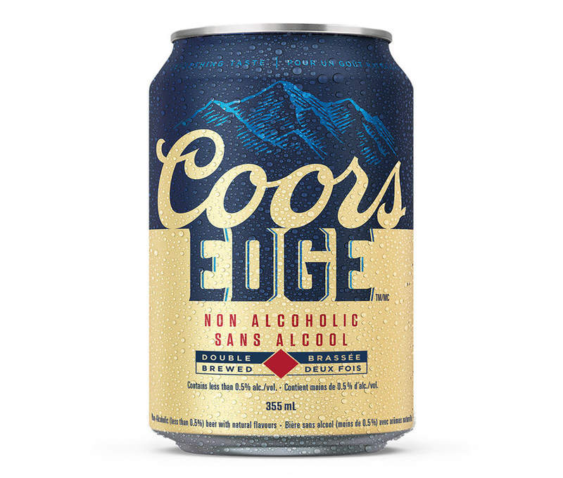 Coors Edge 355 ml can