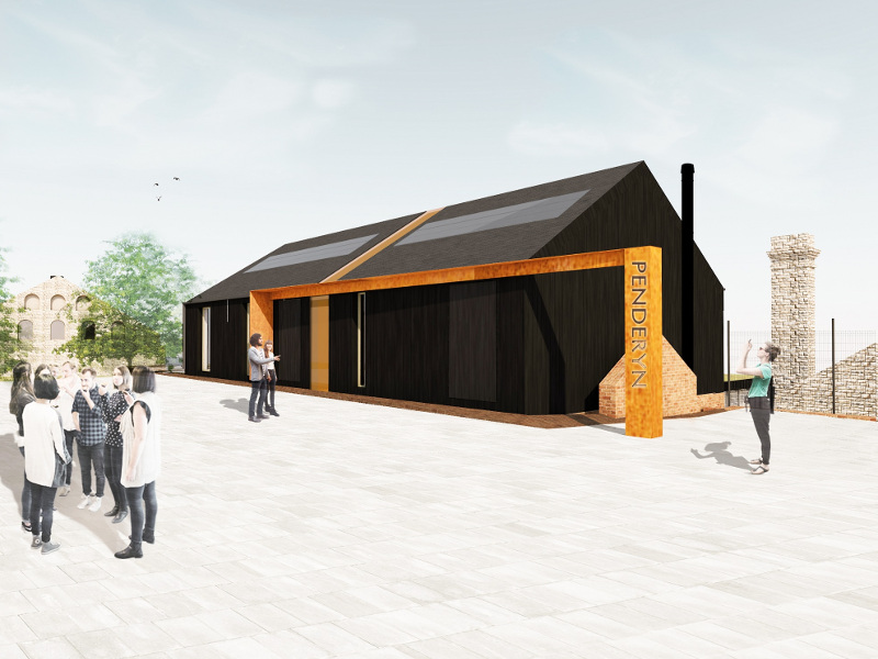 Penderyn is developing its second distillery and a visitor centre in Swansea, UK. Image courtesy of Penderyn Distillery.