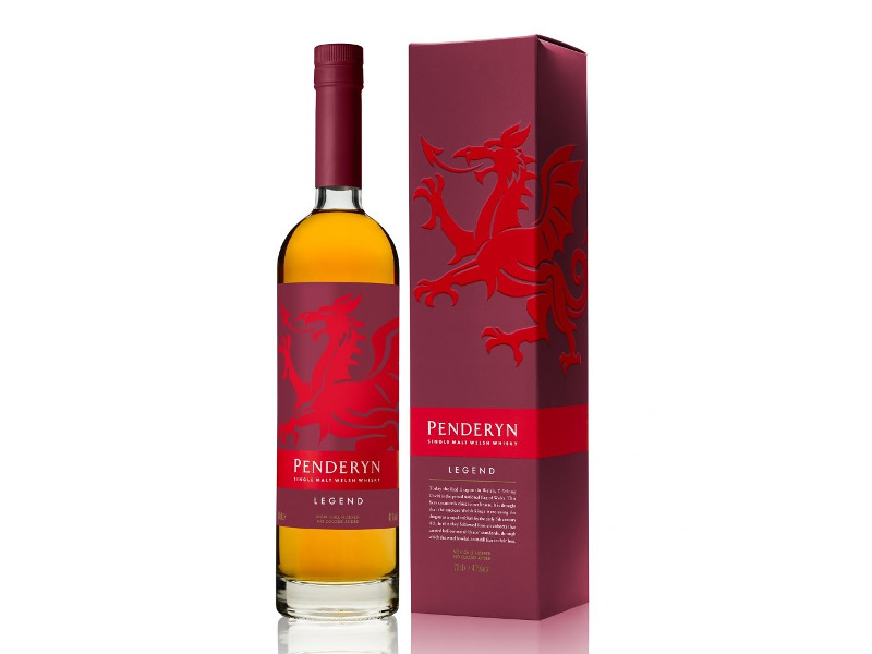 Penderyn's malted barley spirit is aged to produce single malt whiskies. Image courtesy of Penderyn Distillery.