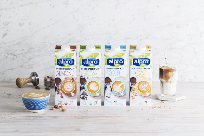 Alpro plant based coffee