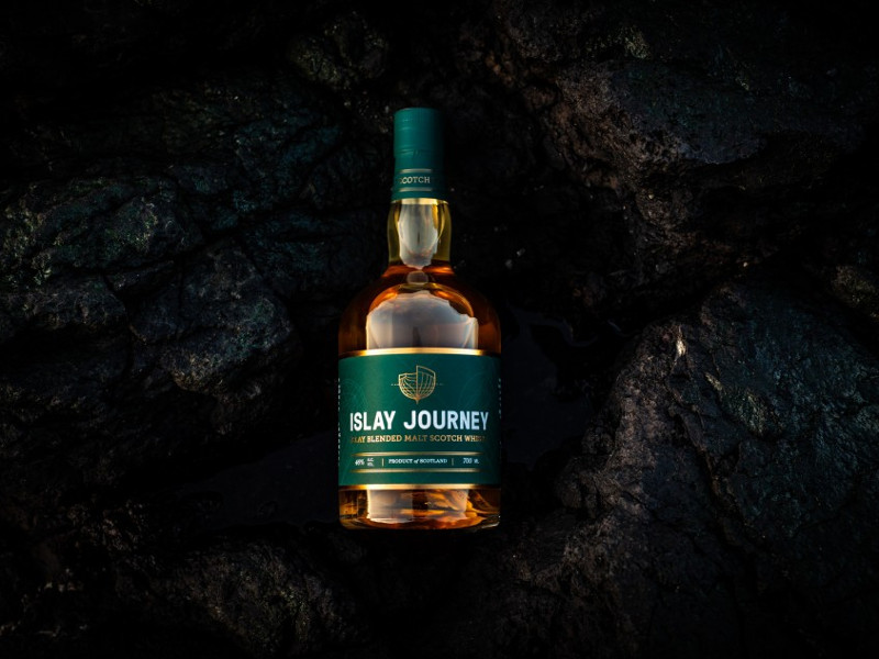 The distillery will produce typical peaty Islay style spirit. Image courtesy of Hunter Laing.