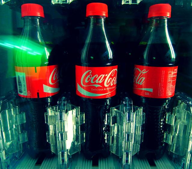 Coca-Cola plastic