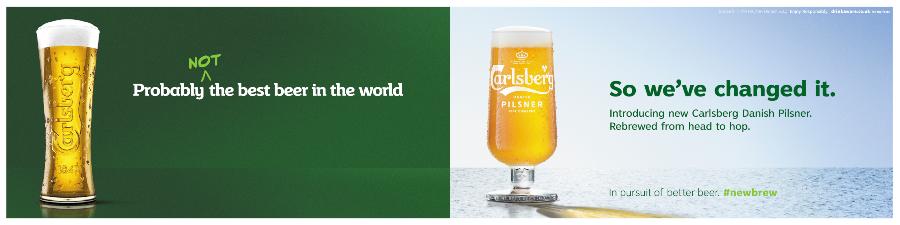 Carlsberg slogan 2019