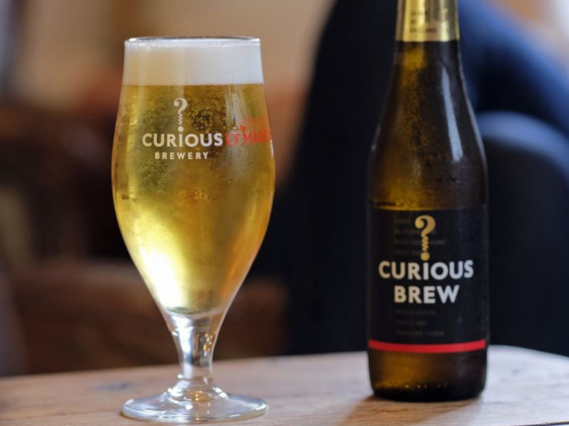 Curious brewery and visitor centre was developed with an investment of £3.6m (approximately $4.1m). Image courtesy of Curious Brewing.