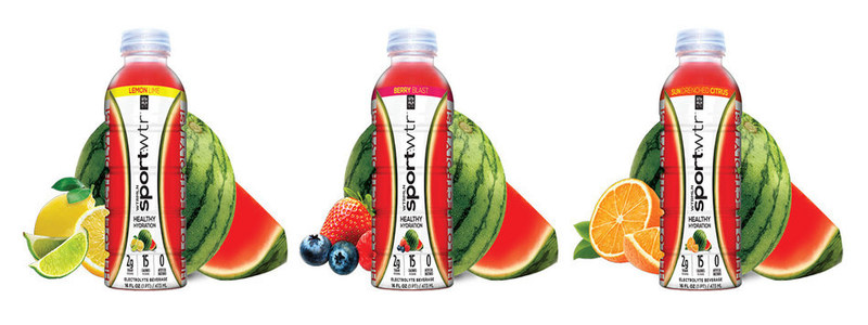 watermelon-flavoured sports drink