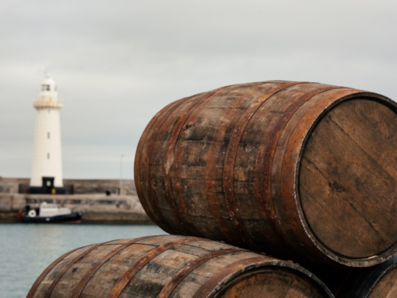 The new distillery will use various casks for maturation of whiskey. Image courtesy of Copeland Spirits.