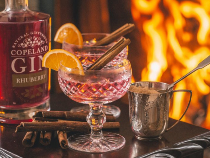 The distillery will produce gin and whiskey. Image courtesy of Copeland Spirits.