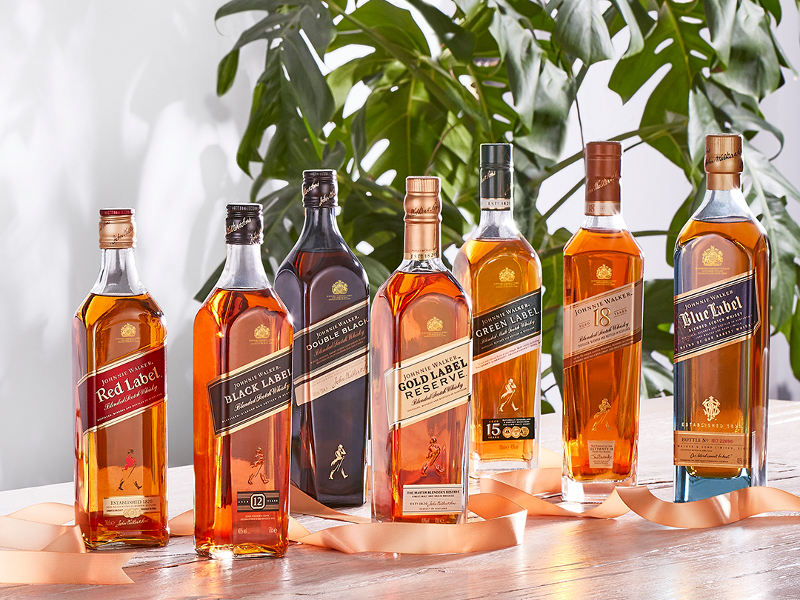 Diageo's Johnnie Walker is one of the most popular brands in the world. Image courtesy of Diageo.