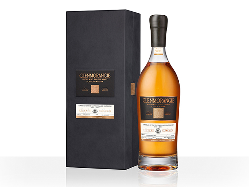 The Glenmorangie Company celebrated its 175th anniversary with the release of a rare single-cask bottling. Image courtesy of The Glenmorangie Company.