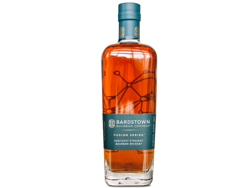 The Fusion Series™ Kentucky Straight Bourbon Whiskey was released in April 2019. Image courtesy of Bardstown Bourbon Company.