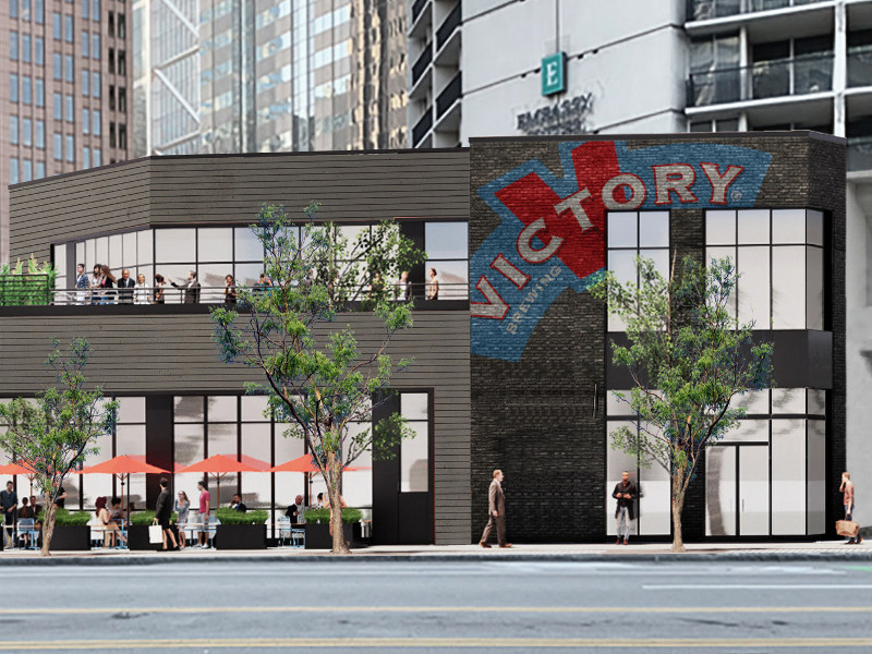 Victory Brewing is developing a new brewery and taproom in Philadelphia, US. Image courtesy of PR Newswire/Victory Brewing Company.