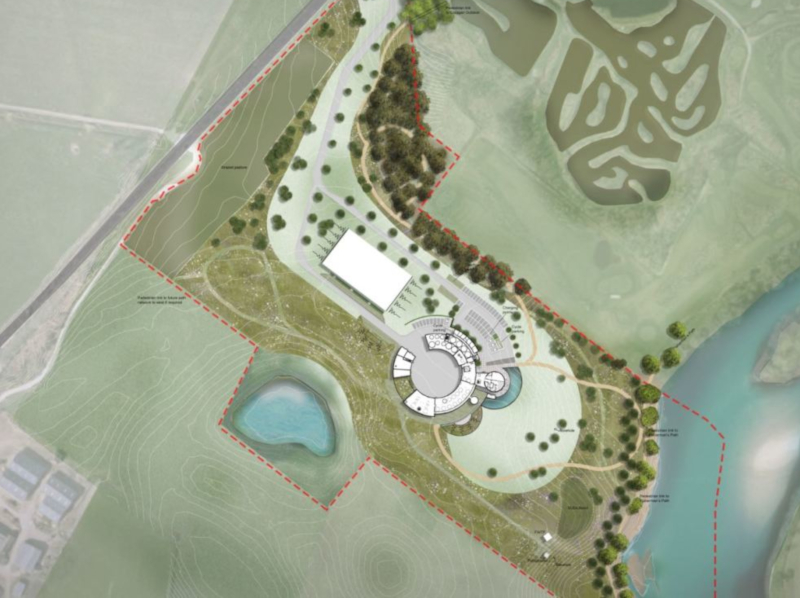 The new distillery and visitor centre is expected to be opened in 2020. Image courtesy of TGP Landscape Architects.