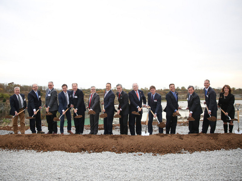 Foundation stone for the Kentucky Owl Park was laid in November 2017.