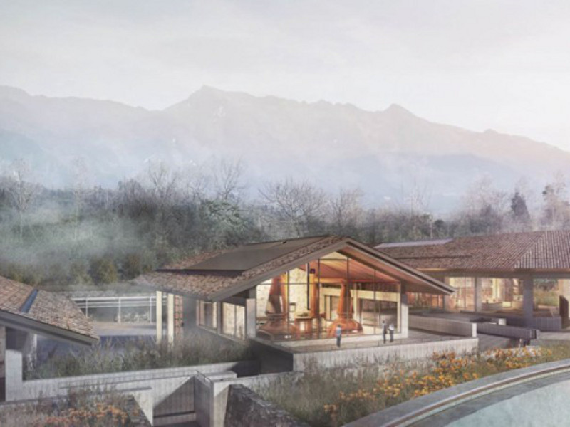 The Emeishan distillery will also comprise a visitor centre. Credit: PM Group.
