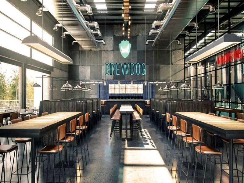 BrewDog opened its DogTap Brisbane brewery in November 2019. Credit: BrewDog.