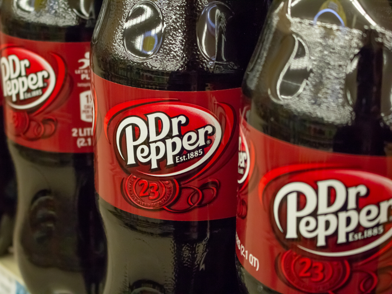 Keurig Dr Pepper (KDP) is building a new beverage production and warehouse facility in Allentown, Pennsylvania, US.  Credit: David Tonelson on Shutterstock