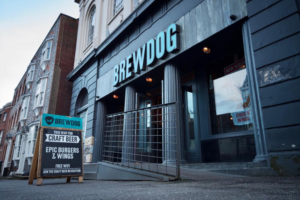 brewdog alcohol-free bar