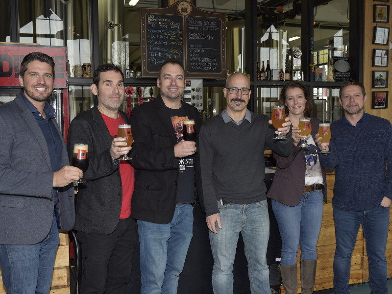 Molson Coors acquired Trou du Diable, a craft brewery located in Shawinigan, Quebec. Credit: CNW Group / Molson Coors Canada.