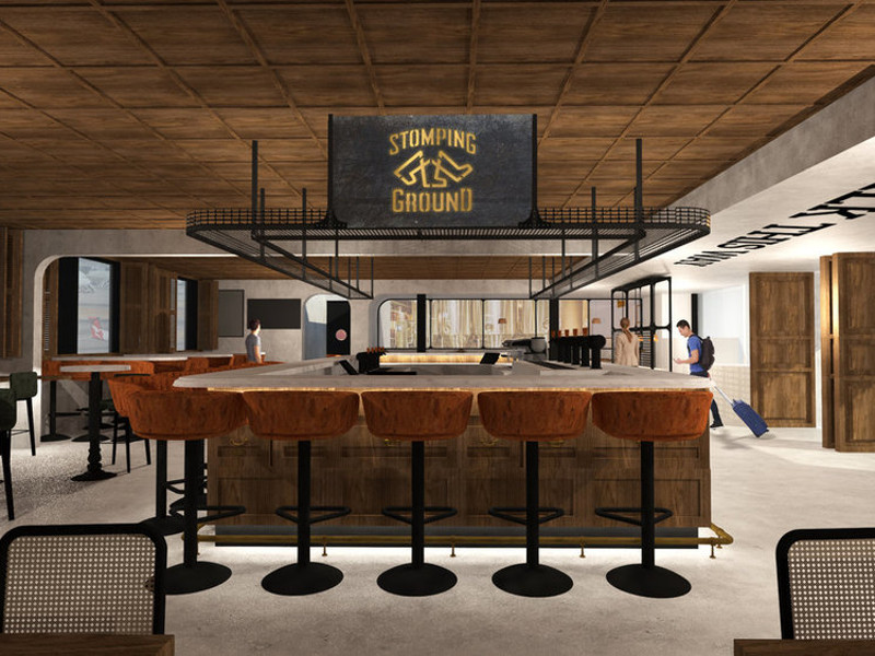 The Stomping Ground brewery was designed by Studio Y. Credit: Stomping Ground Brewing Company.