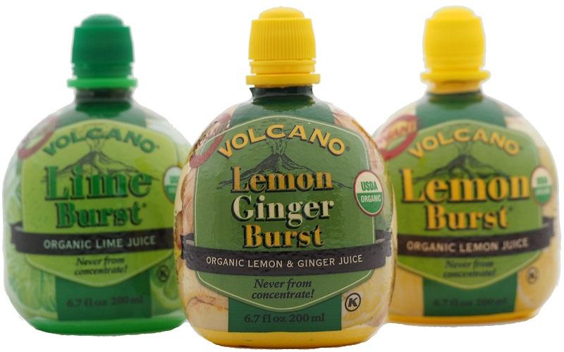 organic citrus juices