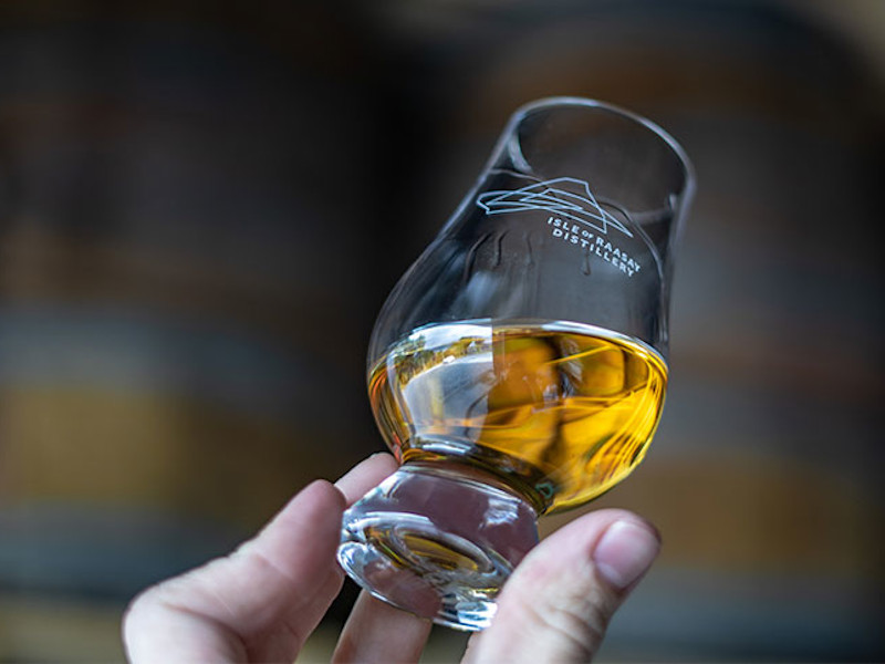 The distillery is planning to roll out its inaugural Isle of Raasay single malt whisky in 2020. Credit: R&B Distillers Limited.