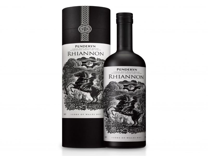 Rhiannon is the seventh product in the company's Icons of Wales Series. Credit: Penderyn Distillery.