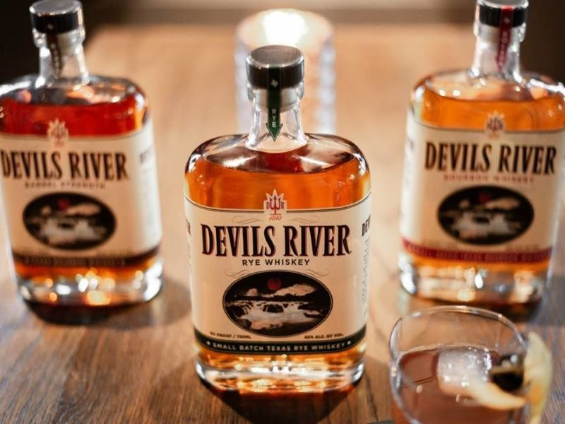 Devils River Whiskey delivered more than 30,000 cases in 2018. Credit: Devils River Whiskey.
