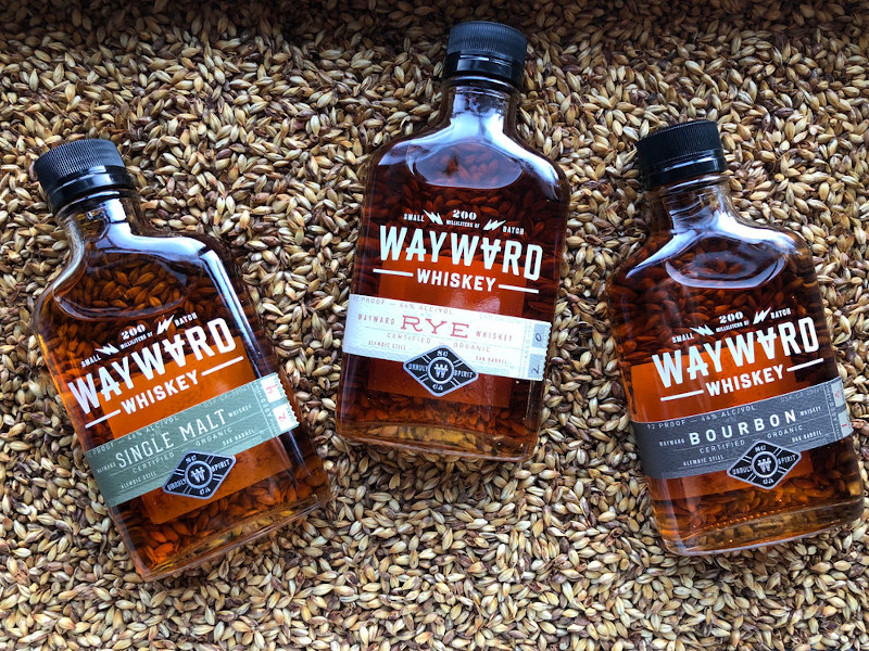 The first batch of Wayward Whiskey was introduced by Venus Spirits in January 2015. Credit: VENUS SPIRITS.