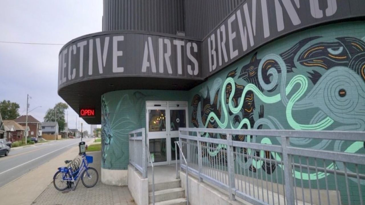 The brewing company is currently operating a retail store at the facility. Credit: Collective Arts Brewing Limited.