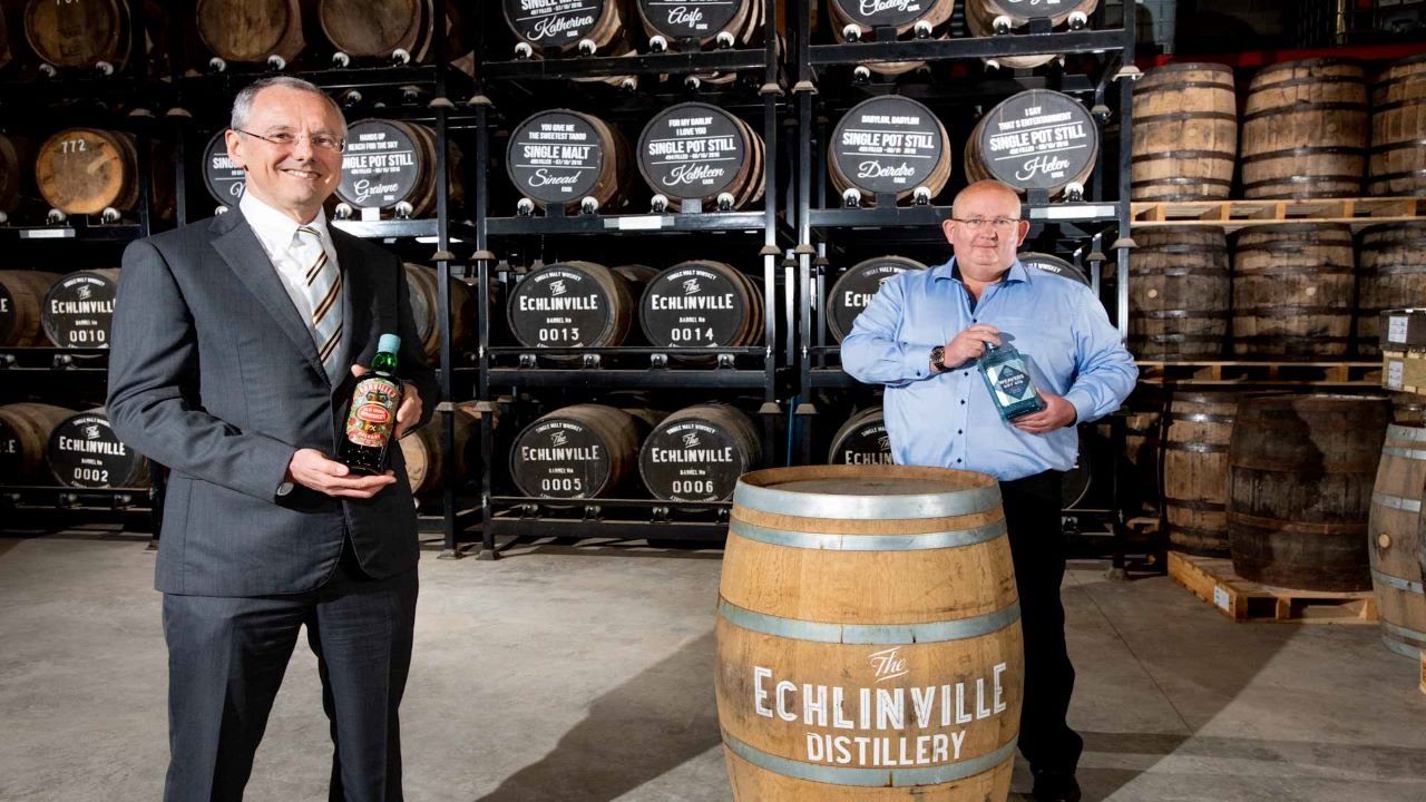 The distillery expansion involves an investment of £9m ($11.73m). Credit: The Echlinville Distillery.