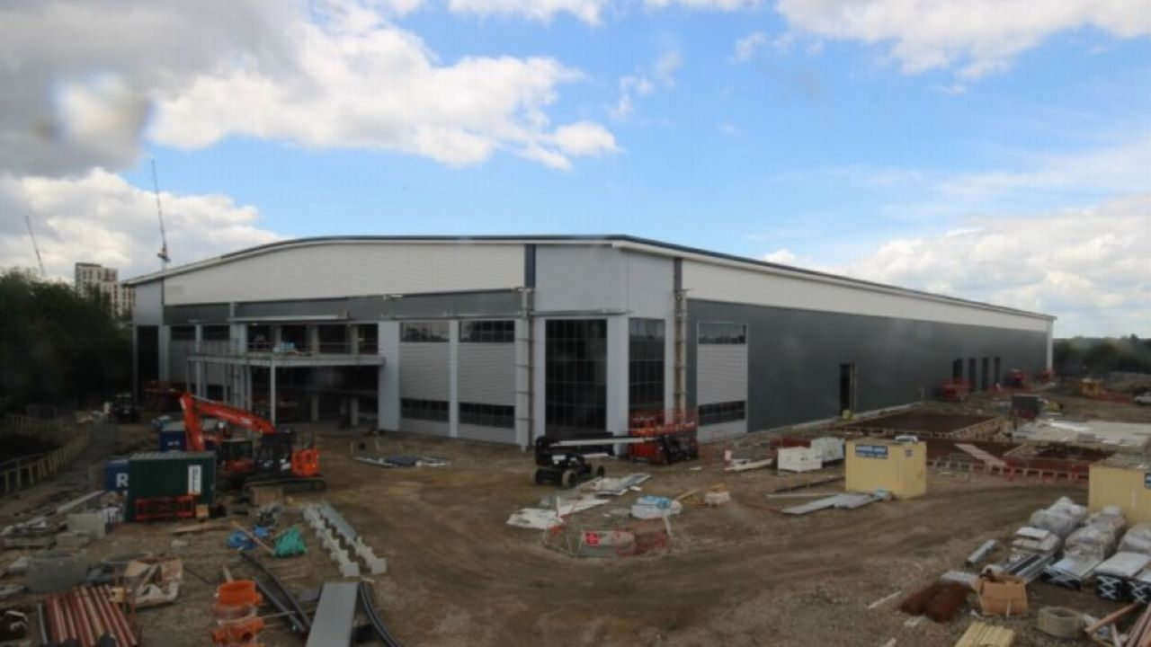 Beavertown Brewery opened the new brewery in August 2020. Credit: Beavertown Brewery.