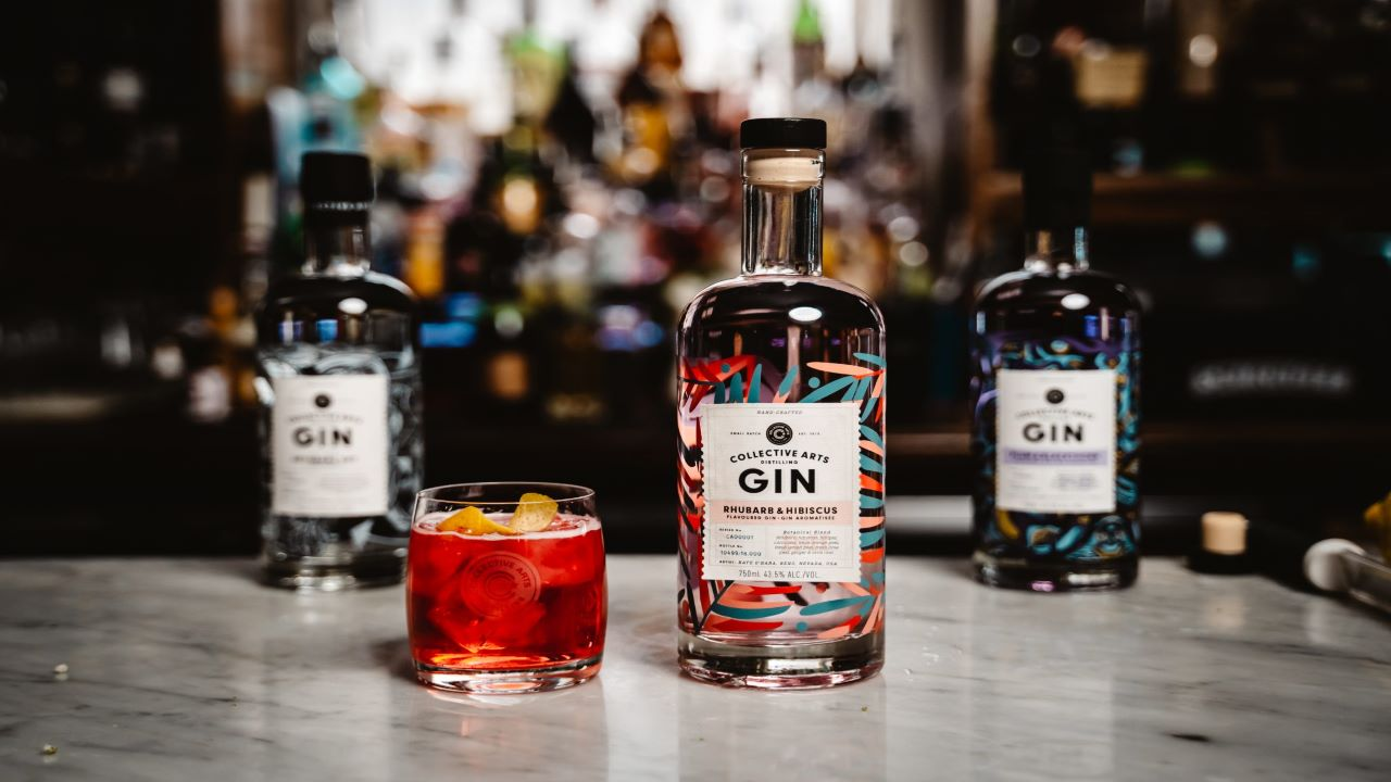 Collective Arts Brewing Company launched two flagship gins in April 2019. Credit: Collective Arts Brewing Limited.