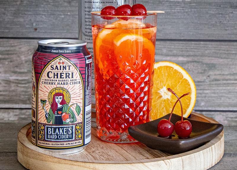 Blakes Hard Cider Saint Cheri Cocktail