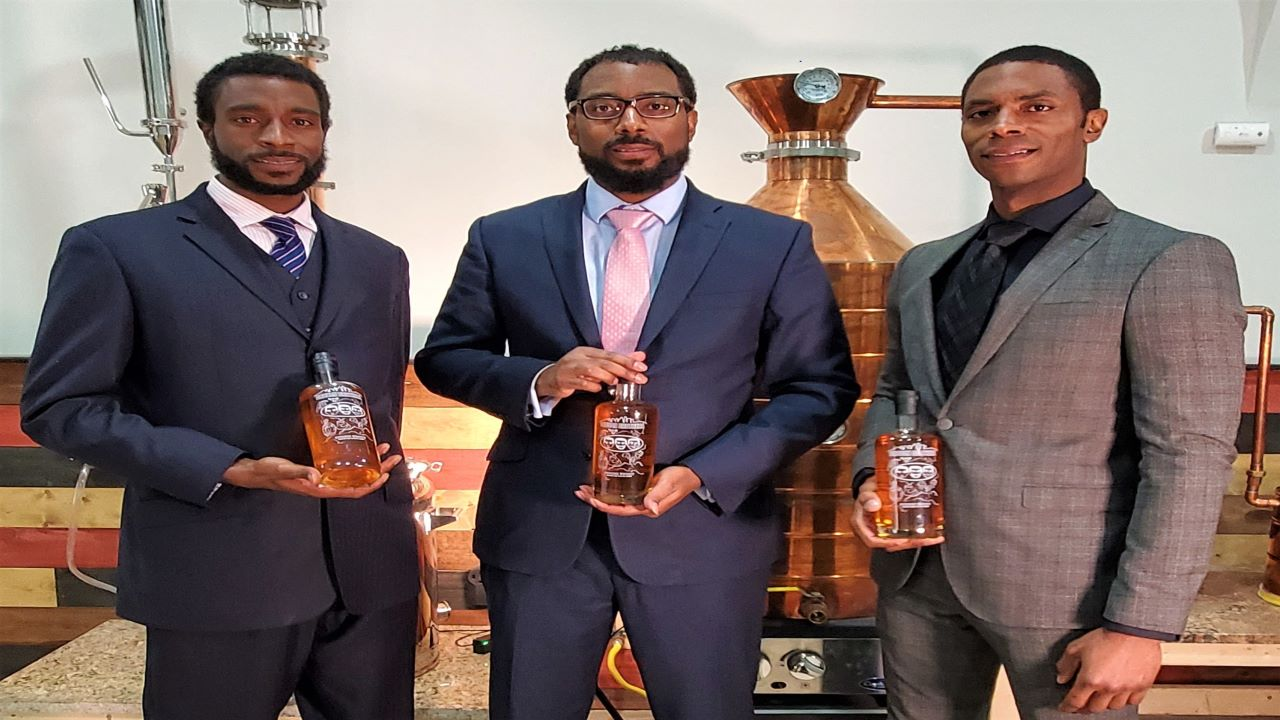 Brough Brothers Distillery is the first black-owned distillery in Kentucky. Image courtesy of Brough Brothers.