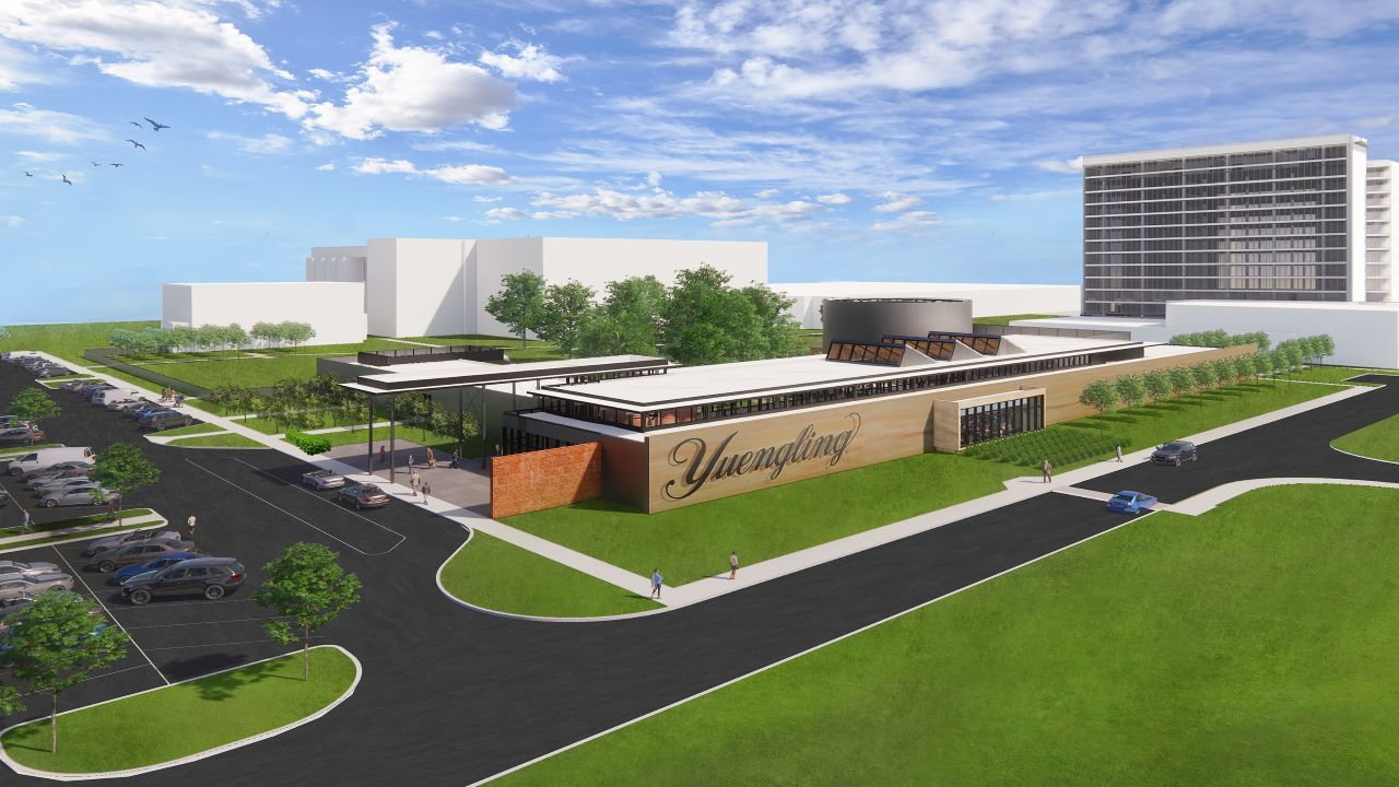 DG Yuengling & Son is transforming its Tampa brewery into a new restaurant and entertainment destination. Credit: PRNewsfoto / D.G. Yuengling & Son, Inc.
