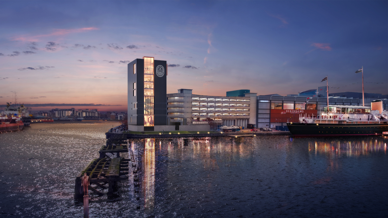 The nine-storey building is being developed by Muckle Brig. Credit: Muckle Brig Ltd.