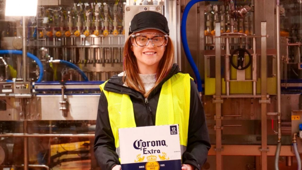 The Magor Brewery expansion will increase the facility's production capacity by 1.6 million hl. Credit: AB InBev UK Limited.