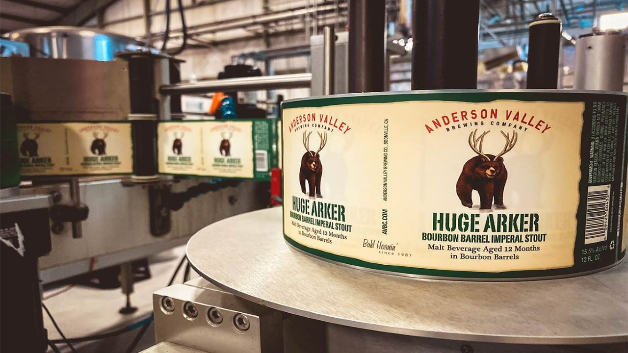 Anderson Valley Brewing Company is switching from glass to aluminium packaging for its entire beer range to reduce environmental impact. Credit: Anderson Valley Brewing Company.