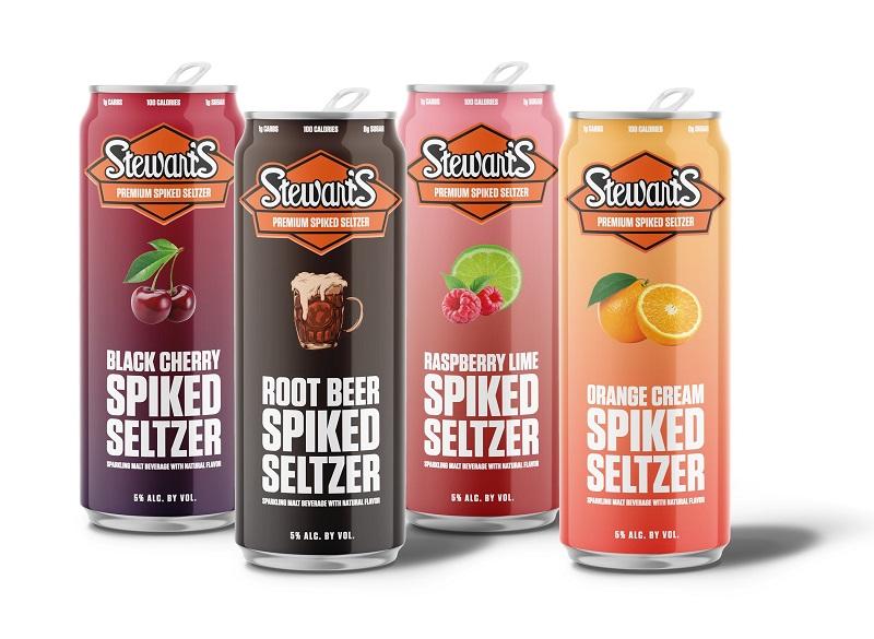 Spiked Seltzer Stewarts Enterprises