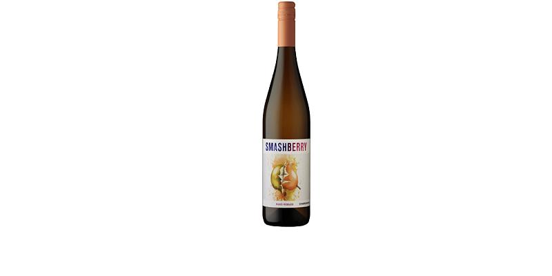 Smashberry wine bottle