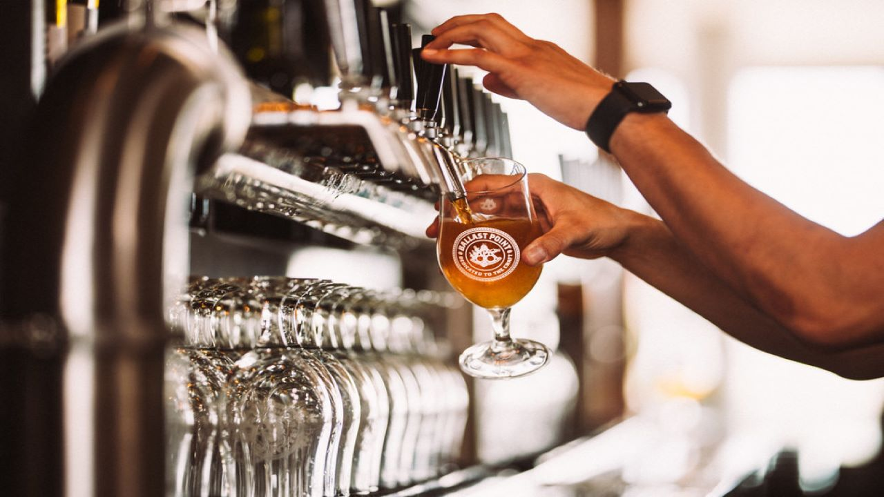 Ballast Point Brewing is expected to open the new brewpub in late 2021. Credit: Ballast Point Brewing Co.