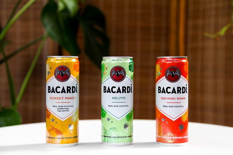 Bacardí; canned cocktails